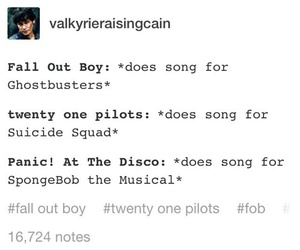 bands, brendon urie, and fall out boy image