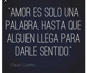 love, frases, and sentido image
