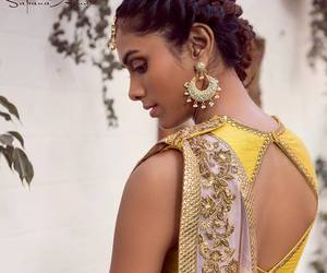 braid, Hindu, and fashion image