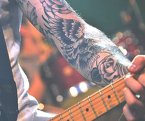 tattoo, danny jones, and McFly image