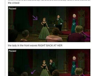 frozen, funny, and anna image