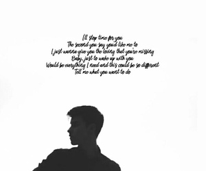 background, crush, and Lyrics image