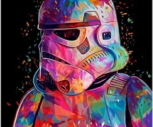 star wars, stormtrooper, and art image
