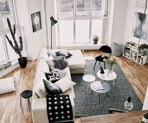 interior, home, and living room image