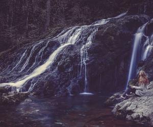 beautiful, scenery, and girl image