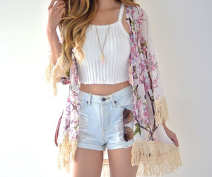 fashion, outfit, and kimono image