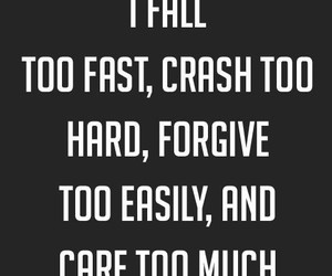 care, forgive, and quotes image