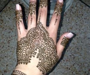 mehendi, henna, and henna designs image
