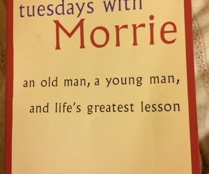 book, mitch albom, and reading image