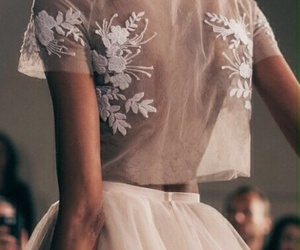 Couture, crop, and skirt image