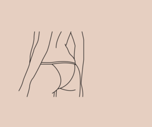 ass, girl, and header image