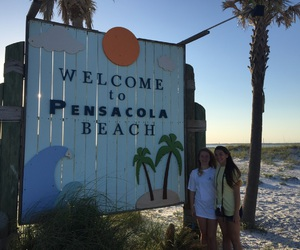 best friends, florida, and summer image