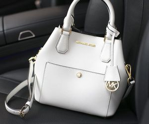 bag, white, and fashion image