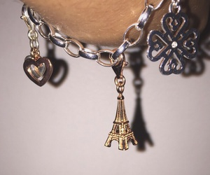 bracelet, paris, and tour eiffel image