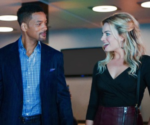 actors, harley quinn, and will smith image