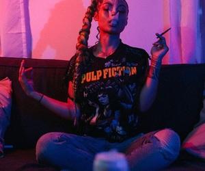 smoke, ghetto, and pink image