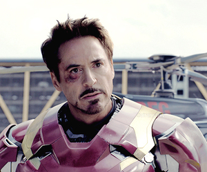 Marvel, ironman, and tony stark image