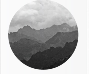 art, etsy, and mountains image