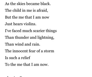 anxiety, lightning, and poetry image