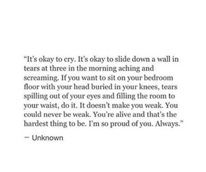 cry, quotes, and life quotes image