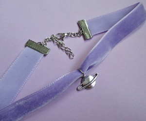 choker, lavender, and lilac image