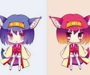 chibi, fan art, and kamiya yuu image