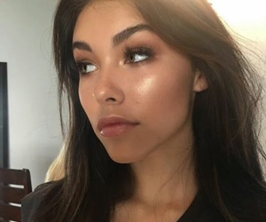 madison beer, makeup, and hair image