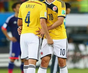 james rodriguez, santiago arias, and colombia image