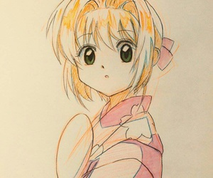 card, fanart, and sakura image