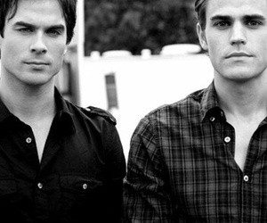 damon, stefan, and salvatore image