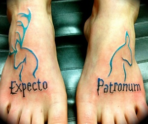 awesome, harrypotter, and tatoo image