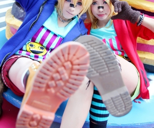 cosplay, vocaloid, and len image