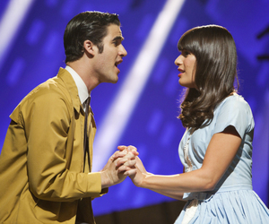 glee, rachel berry, and blaine anderson image
