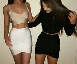 goals, friends, and outfit image
