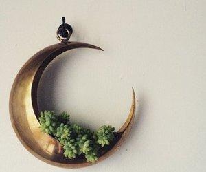 decor, hippie, and moon image