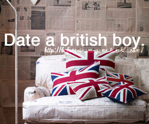 british, boy, and date image