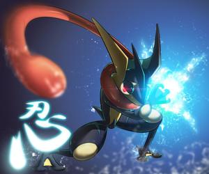 pokemon and greninja image