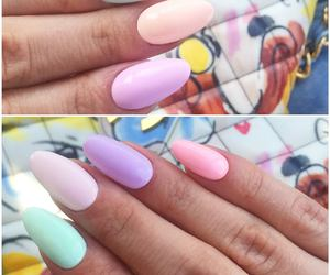 nails and pastel image