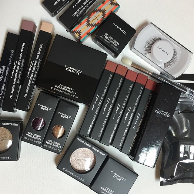 mac, beauty, and makeup image