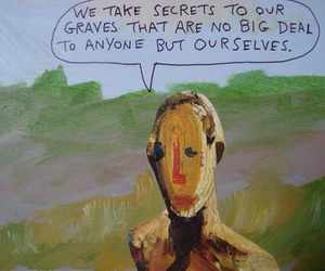 art, quote, and secret image