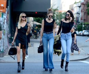 kendall jenner, gigi hadid, and hailey baldwin image