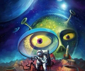 alien, et, and space image