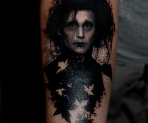 tattoo, edward, and edward scissorhands image