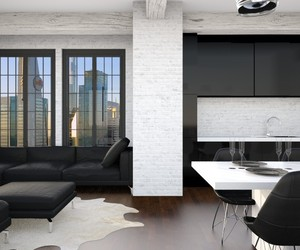 black, design, and home image