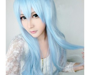 cheap anime wig, cute girl cosplay, and kantai collection cosplay image