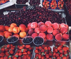 fruit, summer, and berries image