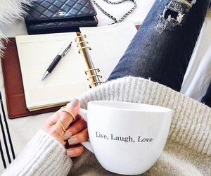 coffee, laugh, and live image