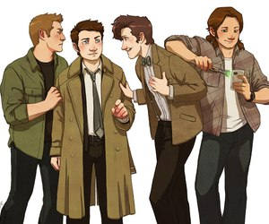 supernatural, doctor who, and superwho image