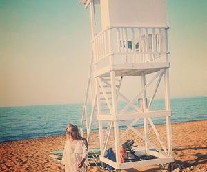 beach, beachlife, and crete image