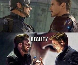 captain america, iron man, and civil war image